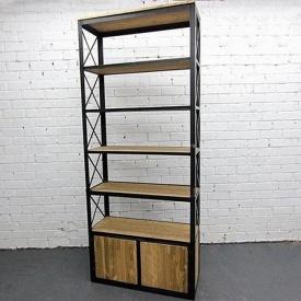 Стеллаж для хранения в стиле LOFT (Rack-034)