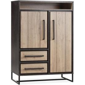 Шкаф для хранения в стиле LOFT (Rack-298)