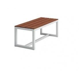 Обеденная скамейка в стиле LOFT 2200х450х450 (Bench - 14)