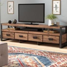 Тумба-подставка для TV в стиле LOFT (Stand-022)