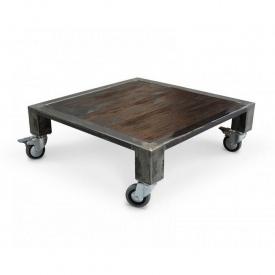 Журнальний столик на коліщатках в стилі LOFT (Table - 536)