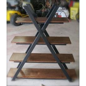 Книжкова полиця в стилі LOFT (Rack - 035)
