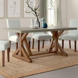 Обеденный стол в стиле LOFT (Table-054)