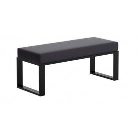 Банкетка-пуф для передпокою в стилі LOFT (Sofa-12)