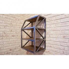 Настенная полка в стиле LOFT (Wall Shelf-08)