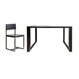 Обідній набір меблів в стилі LOFT (Table-237)