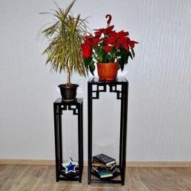 Комплект 2 подставки для цветов в стиле LOFT (Support for Flowers-30)