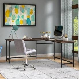 Письменный стол в стиле LOFT (Office Table-123)