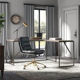 Офисный стол в стиле LOFT (Office Table-133)