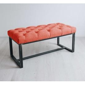 Банкетка-пуф для передпокою в стилі LOFT (Sofa-77)