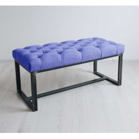 Банкетка-пуф для прихожей в стиле LOFT (Sofa-91)