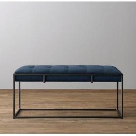 Банкетка-пуф для прихожей в стиле LOFT (Sofa-81)