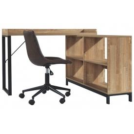 Угловой письменный стол в стиле LOFT (Office Table - 057)