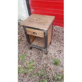 Прикроватная тумба в стиле LOFT (Table - 360)