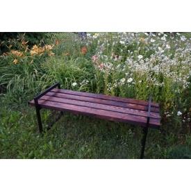 Скамейка парковая стиле LOFT (Street Bench - 37)