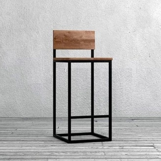 Барний стілець в стилі LOFT (Bar Stool - 35)