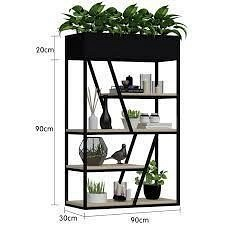 Подставка для цветов-стеллаж в стиле LOFT (Support for Flowers - 40)