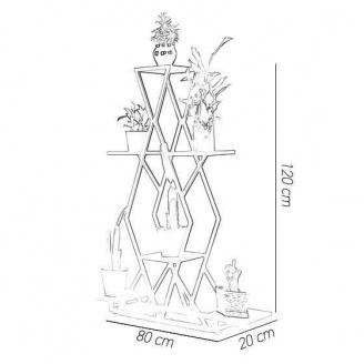 Подставка для цветов в стиле LOFT (Support for Flowers - 31)