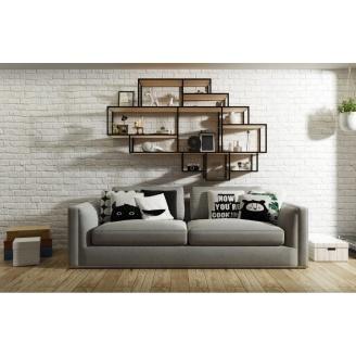 Навісна полиця в стилі LOFT (Wall Shelf-09)
