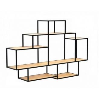Настінна полиця в стилі LOFT (Wall Shelf-17)