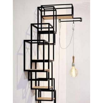 Навісна полиця в стилі LOFT (Wall Shelf-34)