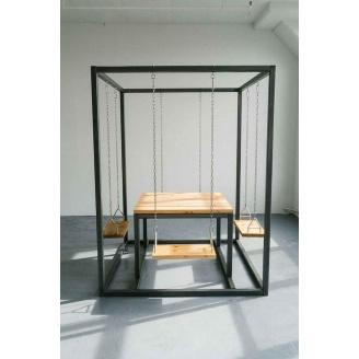 Садовый стол в стиле LOFT (Garden Table-10)