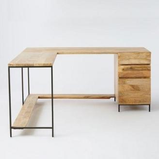 Письмовий стіл в стилі LOFT (Office Table-025)