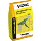 Weber vetonit DECO 39 Затирка для швів шоколад 2 кг
