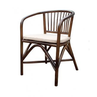 Плетенное кресло ЧФЛИ Париж 550х570х770 мм из ротанга