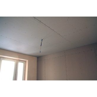 Устройство прямого потолка из гипсокартона