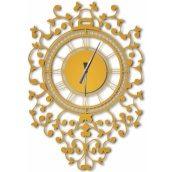 Годинники настінні WallArt Riccioli золоті (WA_Ric_0002)