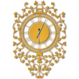 Часы настенные WallArt Riccioli золотые (WA_Ric_0002)