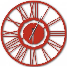 Часы настенные WallArt Stella красные (WA_Ste_0003)