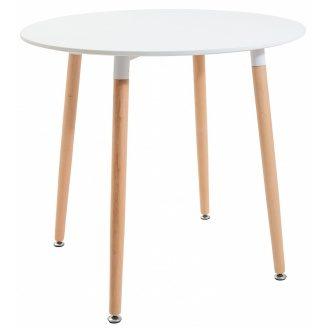 Круглый стол Richman Ксавьер 600х750 мм белый