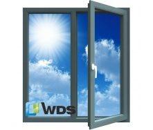 Вікно металопластикове WDS 6S 130x140 см R0.75