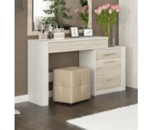 Туалетный столик Мебель-Сервис Ким 114x76x39 см сан ремо/белый