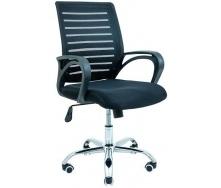 Крісло офісне Richman Флеш 940х1030х490х520 мм сітка чорна