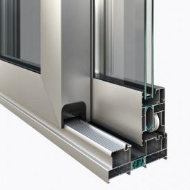 Теплые алюминиевые раздвижные двери AltestLS70 HS портал