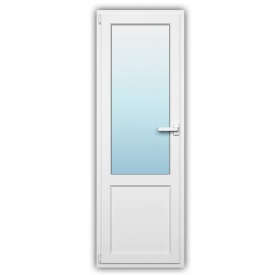 Балконные двери WDS 500 наружная ламинация 700х2150 с энергосбережением