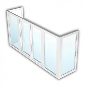 Балкон OpenTeck DeLuxe 1400х4800