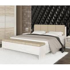 Кровать Мебель-Сервис Ким 208х168х98 см сан ремо/белый