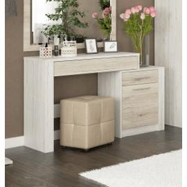 Туалетний столик Меблі-Сервіс Кім 114x76x39 см сан ремо/білий