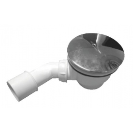 Сифон для поддона Invena с трубой