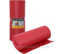 Полотно Verdani шумоизоляционное 5 мм 0,6х8 м красное
