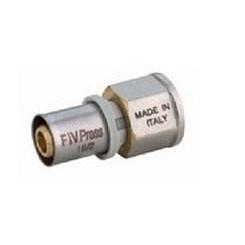 """Муфта під прес для металопластикової труби BP 26х1 """", FIV"""