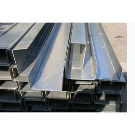 Швеллер стальной 80х60 мм