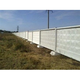 Забор бетонный ЗП 400-2