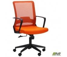 Офисное кресло AMF Argon LB 980-1100х590х640 мм сетка-ткань оранжевого цвета