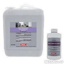 Лак паркетний поліуретановий 2-компонентний напівматовий на водній основі IRSA Platinum 3010 2K SM 4,73 л.