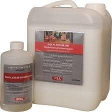 Лак паркетний поліуретановий 2-компонентний глянцевий на водній основі IRSA Platinum 3055 2K HGL 4,73 л.